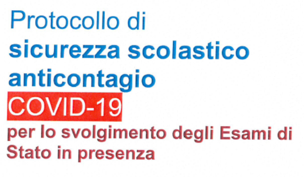 PROTOCOLLO DI SICUREZZA ANTICONTAGIO COVID-19 E...